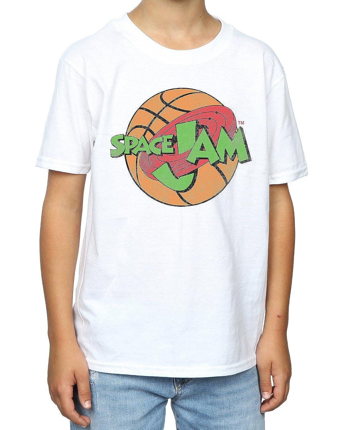 space jam Boys Simple Logo T-Shirt