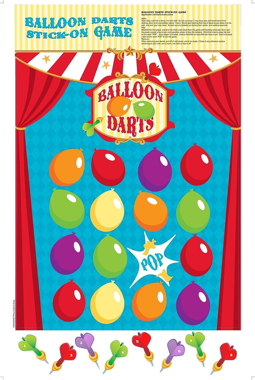 Amazon Com Birthdayexpress Carnival Games Party Supplies Balloon