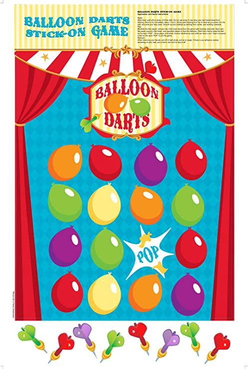 Buy Balloon Darts Stick On Game Online At Low Prices In India