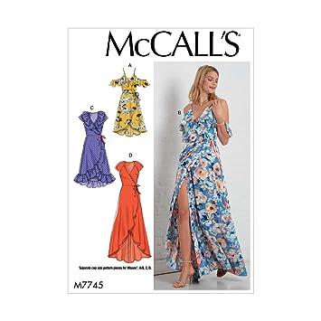 McCall \'s Damen Custom Cup Größen Kleider | Größe 14–22 ...
