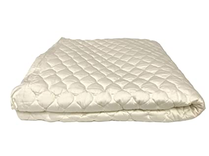 Amazon.com: OrganicTextiles Organic Cotton Mattress Pad with 100
