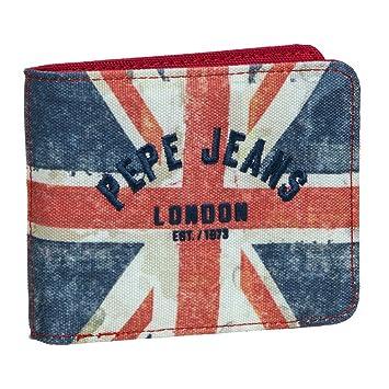 PEPE JEANS Brieftasche London Münzbörse, Blau: