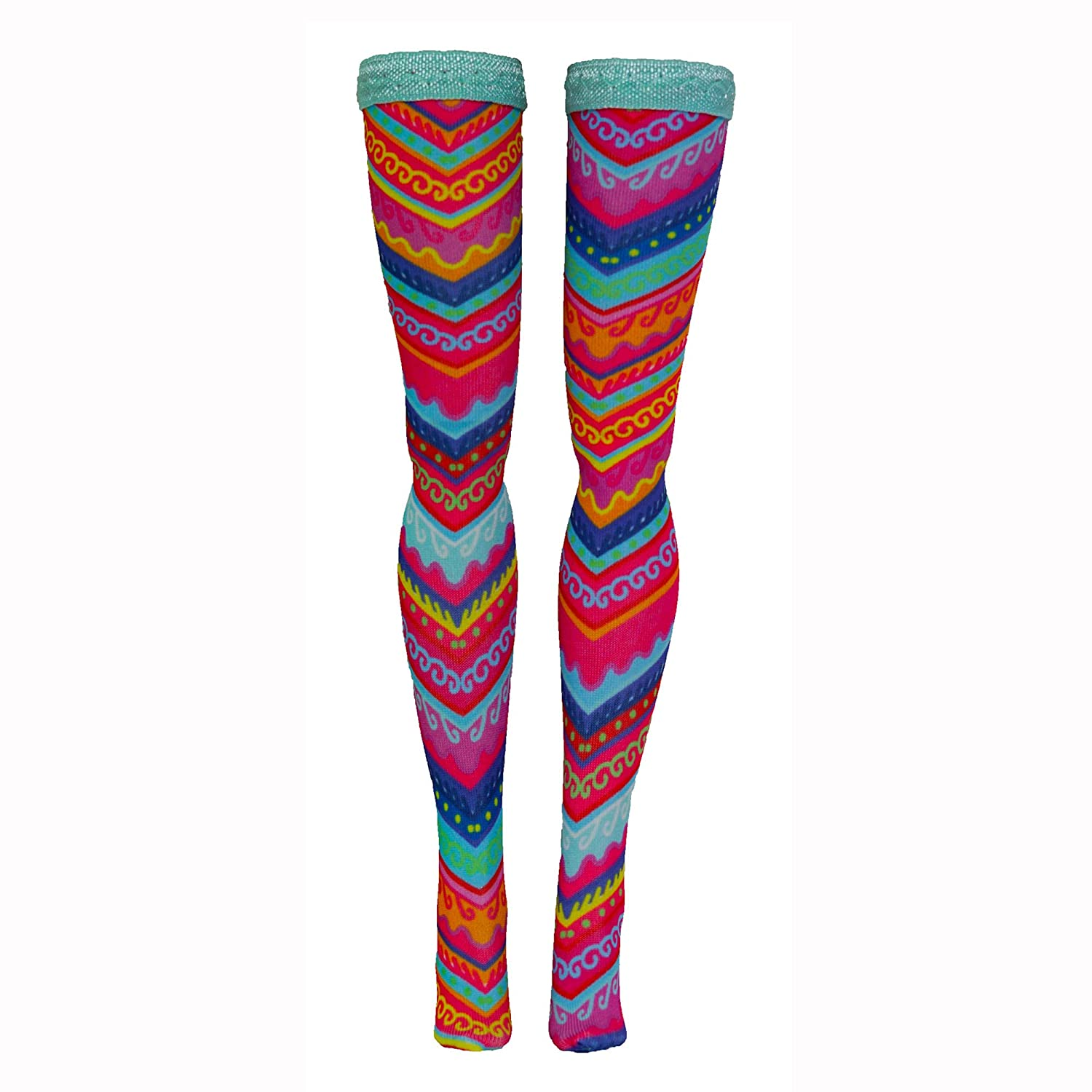 Silkstone Tall Skipper Prints 1 Doll Stockings for Barbie Curvy Petite Made to Move Francie