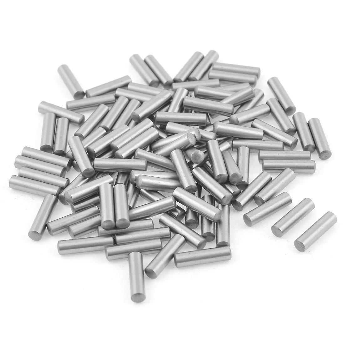 100 Pcs Stainless Steel 3.2mm x 15.8mm Dowel Pins Fasten Elements Sourcingmap a13070200ux1214