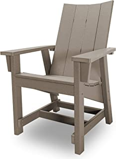 product image for Hatteras Hammocks Weatherwood Conversation Chair, Eco-Friendly Durawood, All Weather Resistance, Fit 'N' Finish Handcrafted in The USA …