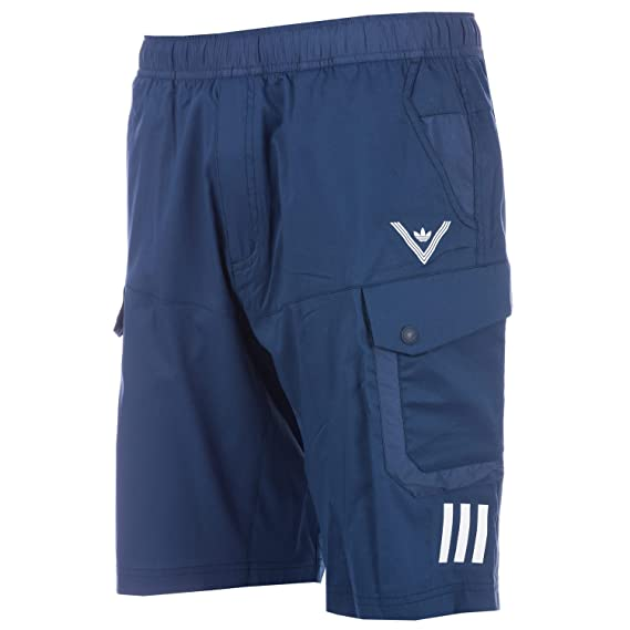 63e9027d2 adidas Originals Mens Mens White Mountaineering Shorts in Navy - XS ...