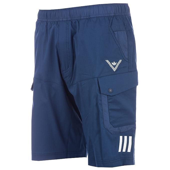 Adidas Pantalón Hombre Corto Para Originals Deportivo Azul prxHZpwqBf