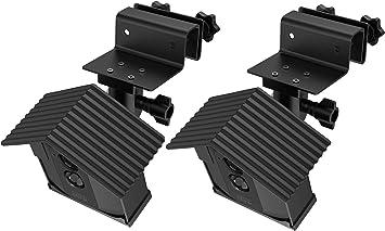 Soporte de pared para Blink XT2 Blink Mini Soporte de montaje ajustable para c/ámara de seguridad en el hogar 3 unidades TIUIHU