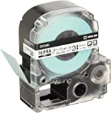 キングジム テープカートリッジ テプラPRO ケーブル表示ラベル 24mm SV24K