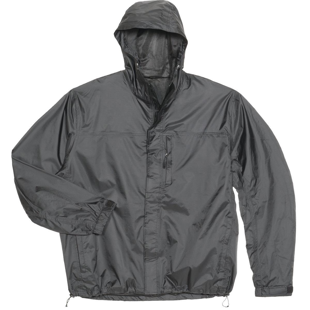 GEMPLER'S 214442 Packable Rip-Stop Rain Jacket, Black, Size 3XL by GEMPLER'S
