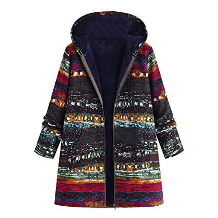 e738faa1e32 Image Unavailable. Image not available for. Color  Franterd Plus Size  Winter Thicker Coat Women ...