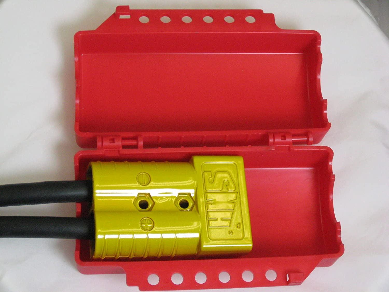 footwear new images of 100% quality ZING 7294 RecycLockout Lockout Tagout, Universal Plug/Forklift/Cylinder  Lockout, Recycled Plastic