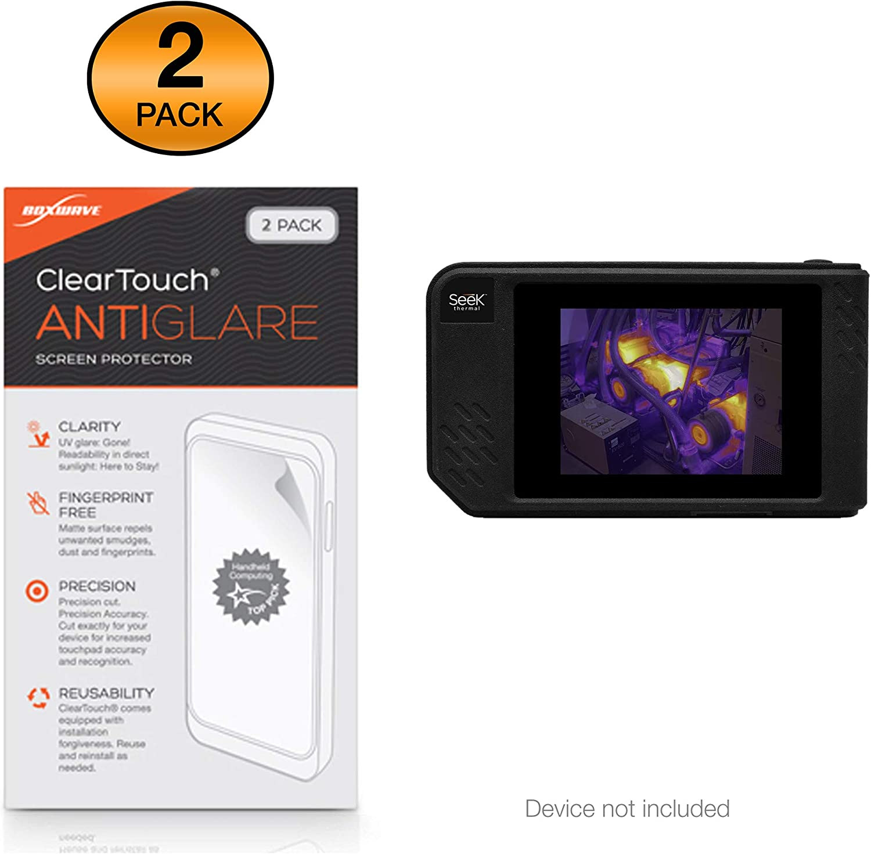 ClearTouch Crystal Shields from Scratches for Seek Thermal Seek ShotPRO HD Film Skin Seek Thermal Seek ShotPRO Screen Protector 2-Pack BoxWave