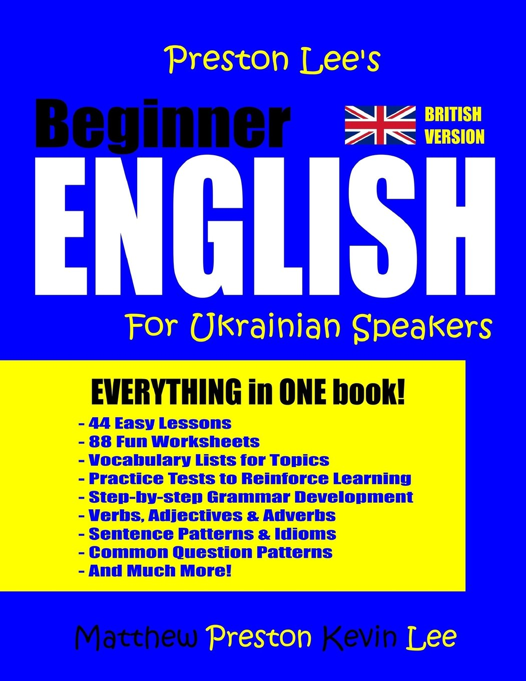 Download Preston Lee's Beginner English For Ukrainian Speakers (British) PDF