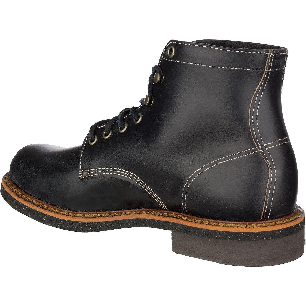 321edd99ad7 Thorogood 1892 Beloit Boot Black Leather Horween CXL 814-6532 ...