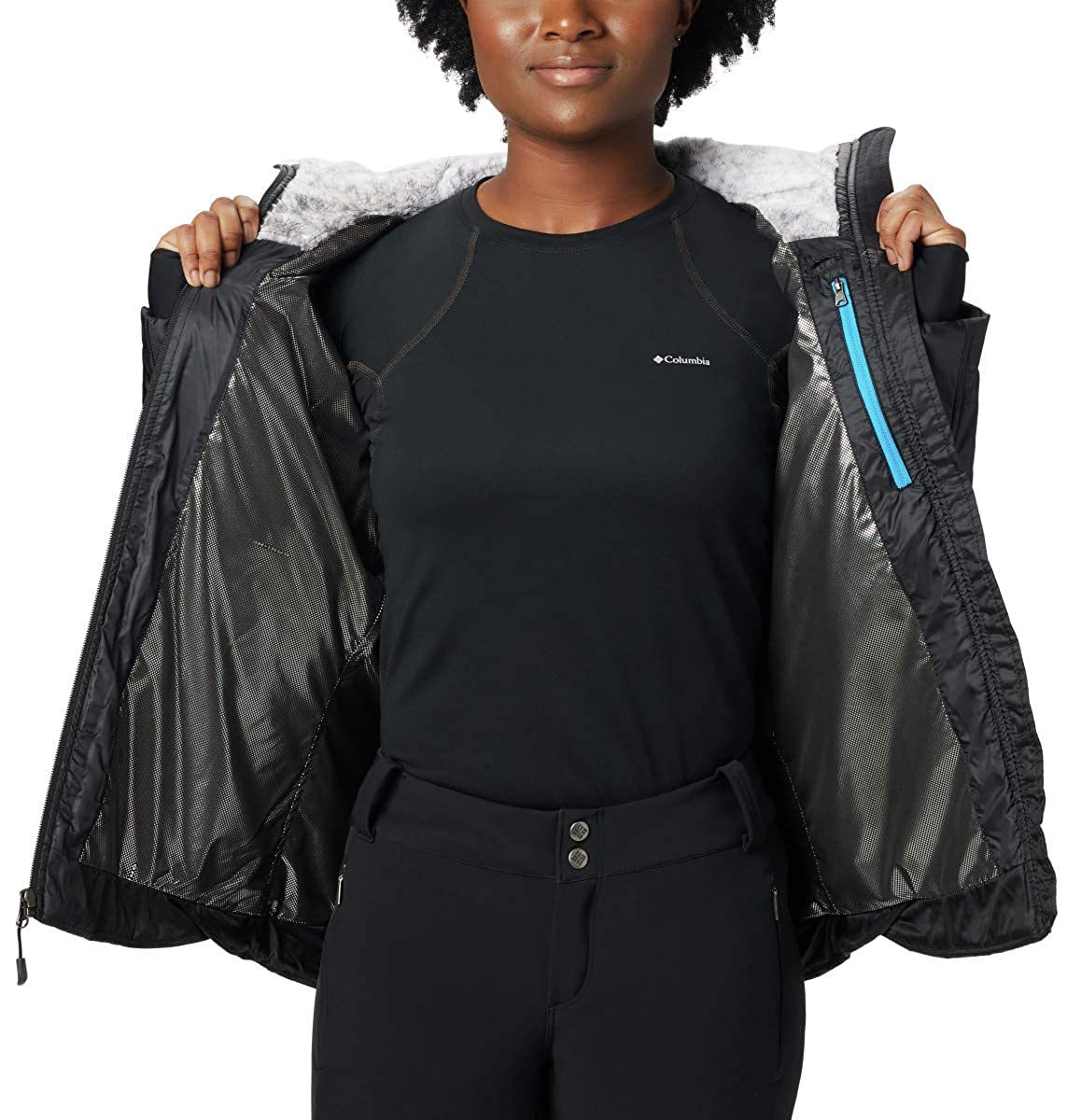 Columbia Womens Kaleidaslope II Jacket, Waterproof & Breathable