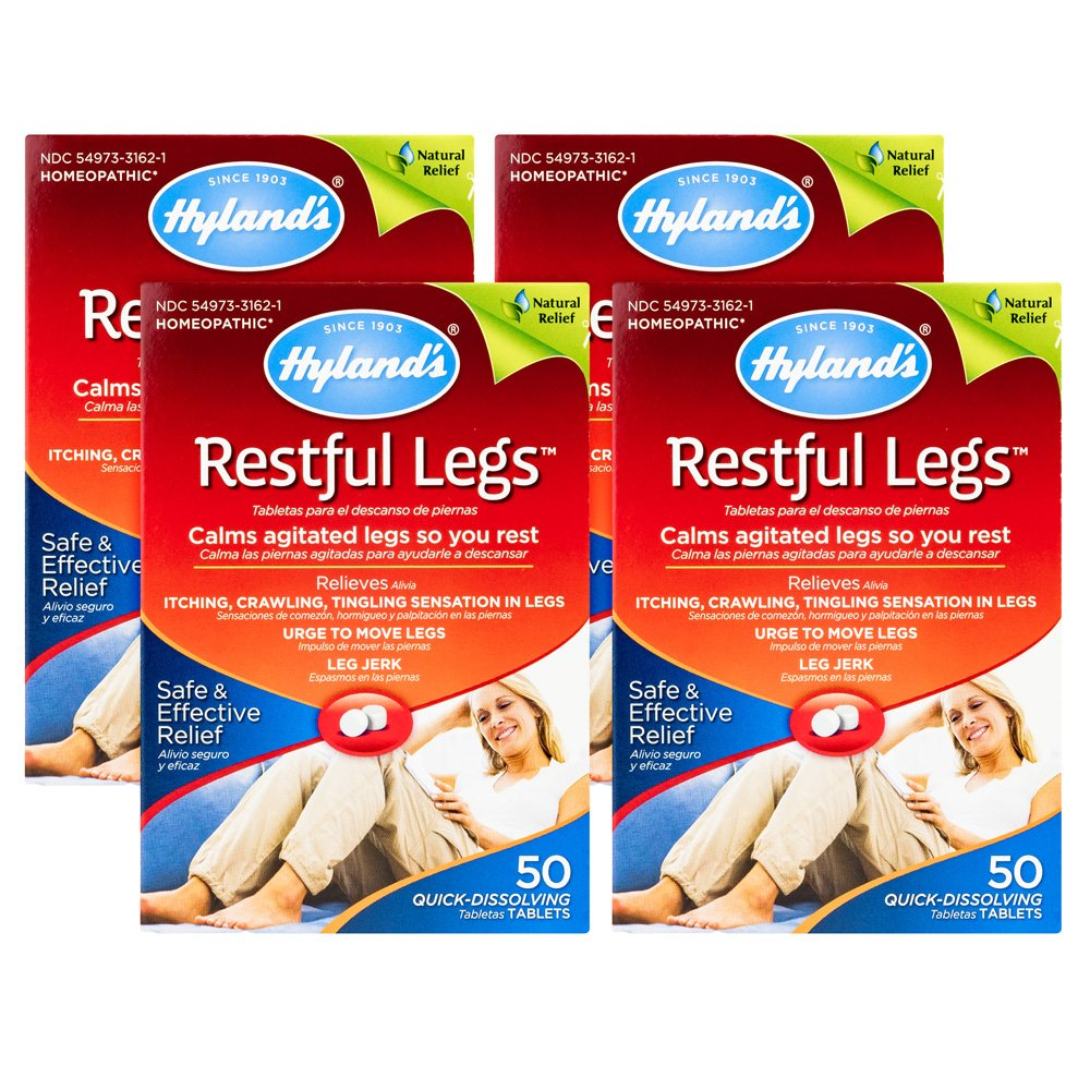 Hylands Restful Legs Tablets 50 ea (Pack Of 4) product image