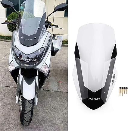 Nrpfell para NMAX155 N-MAX 125 NMAX 155 2016-2019 Motocicleta Parabrisas Deflector Parabrisas Ahumado