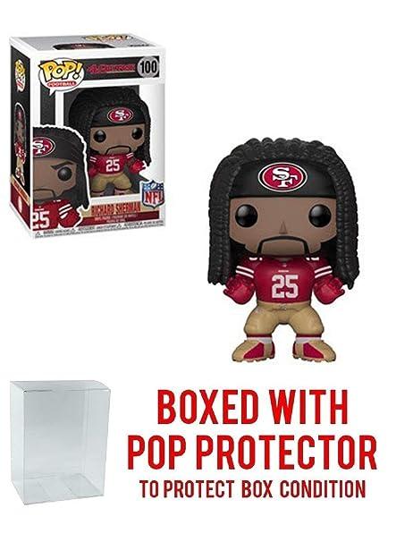 new style f21ba 09028 Amazon.com: Pop! NFL: Richard Sherman San Francisco 49ers ...