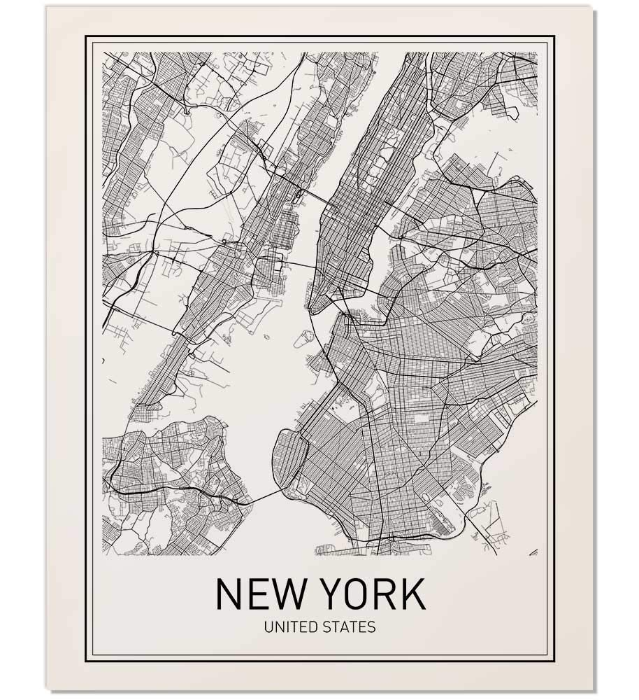 New York Poster, New York Map, New York City, City Map Posters, NYC, Map New Your City on new york outline, new york tourist map, new zip code map, nyc map, new your directions, new your city drawing, new york state map printable, new cit ny map, new town map, new school map, new york on us map, new orlando map, new your churches, new your water, garden city new york map, new map yokj, new york ny map,