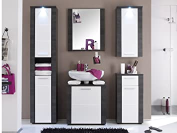 Badezimmer komplett Bad Komplettset Badschrank Schrank Badezimmer ...