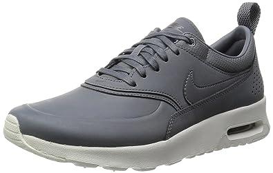 Nike Air Max Thea Premium, Sneakers Basses femme Gris Grau (Cool Grey