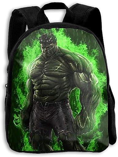 Marvel Mochila para Ni/ños El Incre/íble Hulk