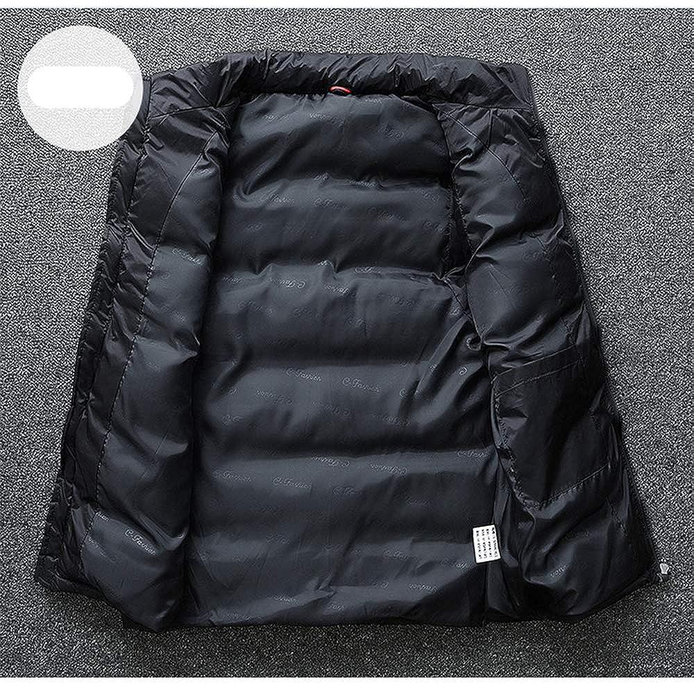 Cdon Mens Sleeveless Warm Lightweight Down Vest Padded Jacket Puffer Vest