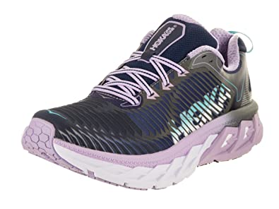 e1a803a24179 Image Unavailable. Image not available for. Color  HOKA ONE ONE Womens  Arahi Medieval Blue Lavender Running Shoe ...