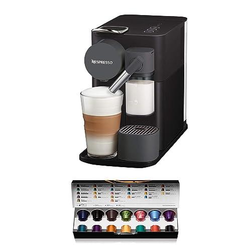 Nespresso De Longhi Lattissima One EN500B Cafetera monodosis de cápsulas Nespresso con depósito de leche compacto 19 bares apagado automático color negro