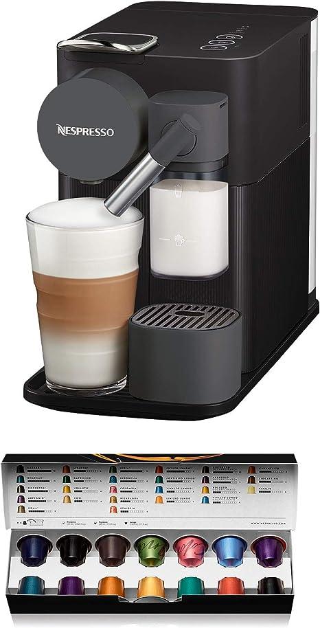 Nespresso Delonghi en 500.b lattissima one black-cafetera ...