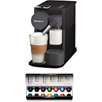 De'Longhi Nespresso, Lattissima One, Capsule Coffee Machine, EN500B, Black
