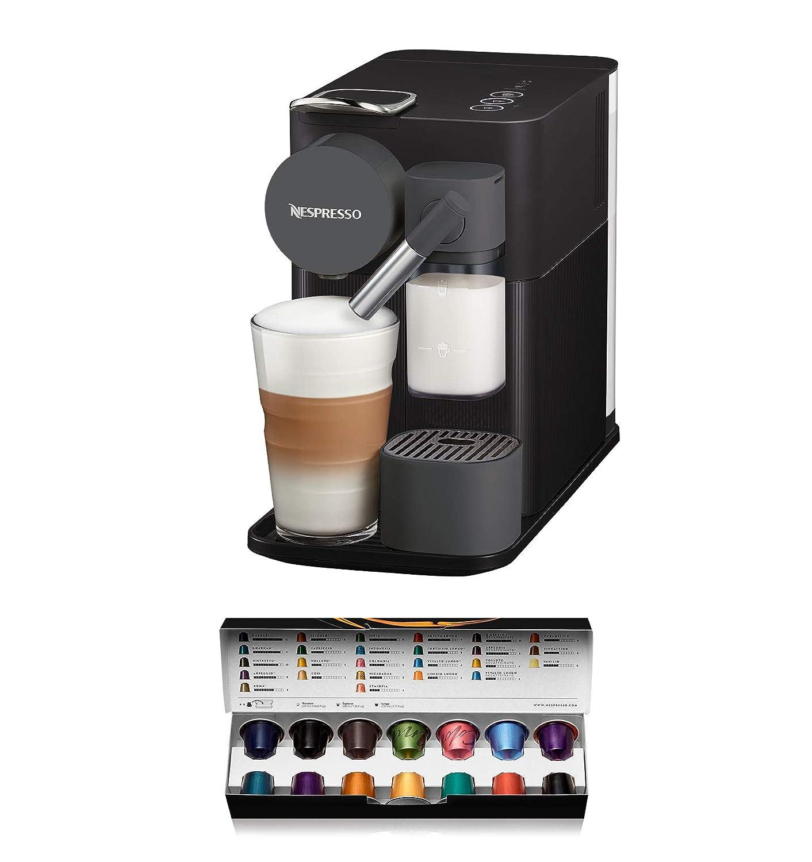 Nespresso DeLonghi Lattissima One EN500B - Cafetera monodosis de cápsulas Nespresso con depósito de leche compacto, 19 bares, apagado automático, ...