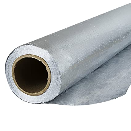 Houseables Radiant Barrier Insulation Aluminum Foil Roll 1000