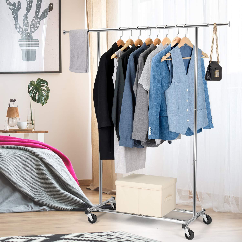 Amazon.com: Bextsware - Perchero para ropa, organizador de ...