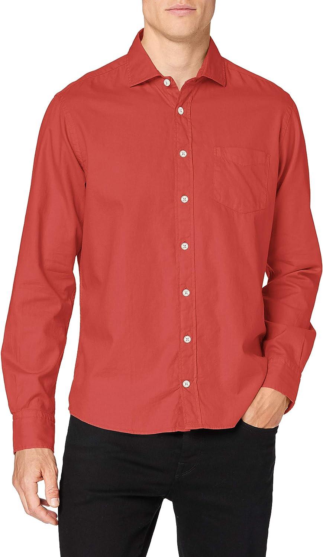 Hackett London GMT Dye OX Camisa para Hombre