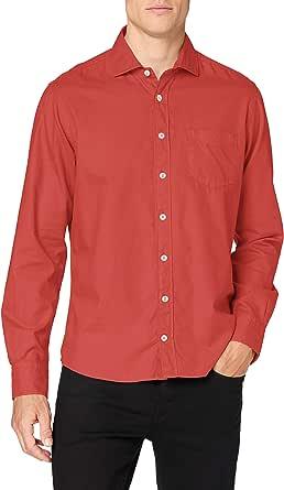 Hackett London GMT Dye OXF KC Camisa para Hombre