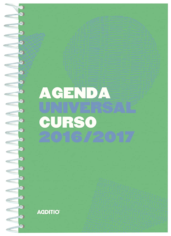 Additio A142 - Agenda Universal 2016-2017, surtido: colores aleatorios