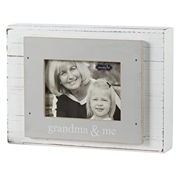 Mud Pie Grandma And Me Frame Graywhite 3 X 4
