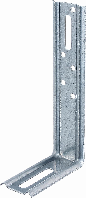 acier angle /à 90/º /Équerre r/églable 70 x 50 x 30 mm // 50 pcs galvanis/ée Sendzimir