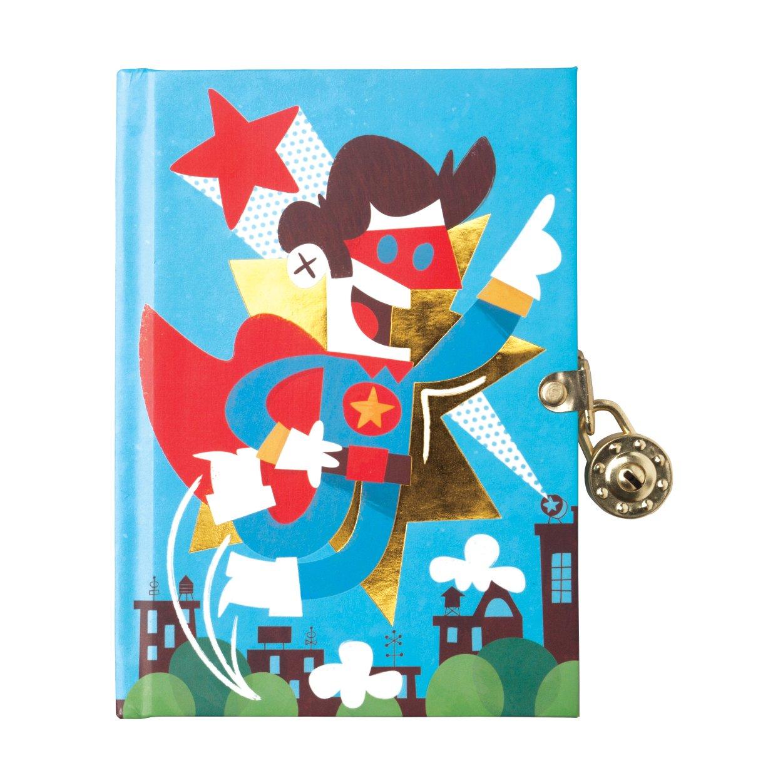 Mudpuppy Superhero Locked Diary