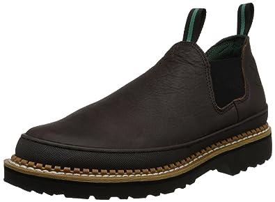 215baca9a9929 Amazon.com  Georgia Giant Men s Romeo Slip-On Work Shoe  Shoes