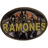 Ramones Classic Circle Seal Logo Band Metal Belt Buckle New Official Band Merch