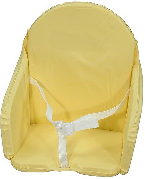 BAMBISOL Cojín Silla con correa amarilla: Amazon.es: Bebé