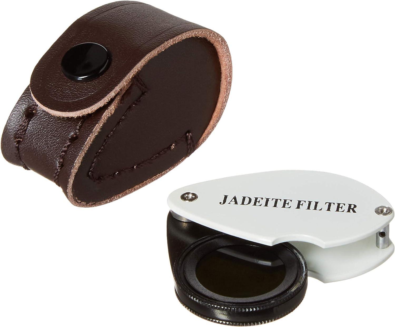 Jewelers Hastings Triplet Loupe Gem Identification Tools Bundle Diffraction Spectroscope Jadeite Filter 3 items Chelsea Filter
