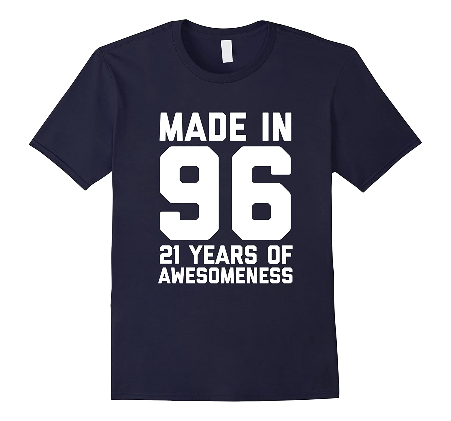 21st Birthday Shirt Gift Age 21 Year Old Mens Womens Tshirt-FL