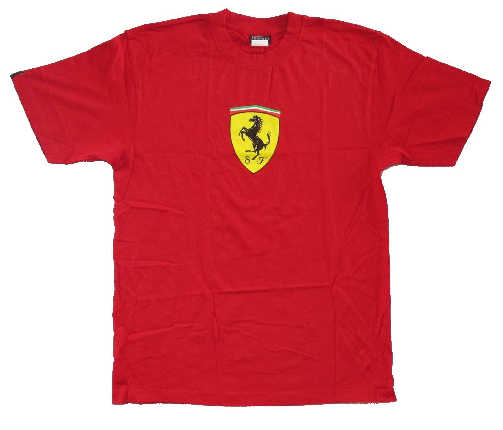 Ferrari Classic Sf Shield Logo Adult T Shirt 6730