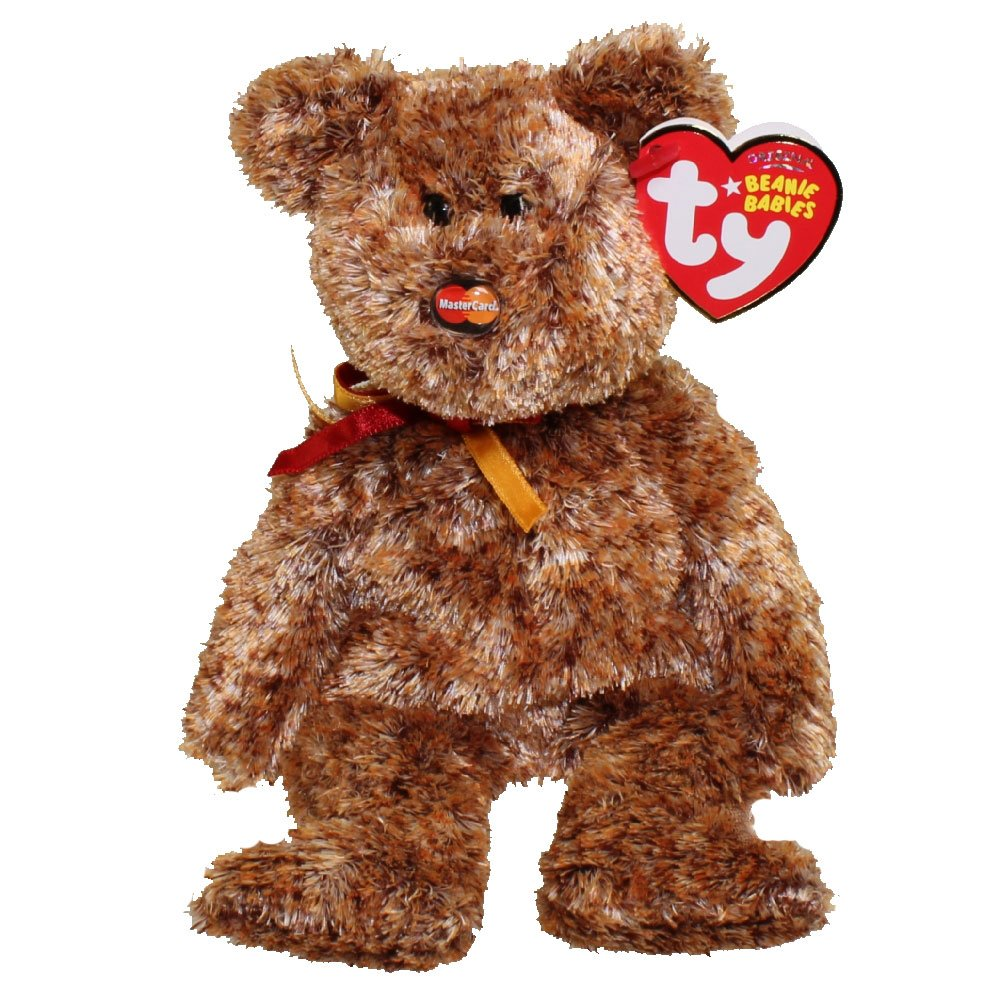 TY Beanie Baby MC MASTERCARD VII Bear Credit Card Exclusive