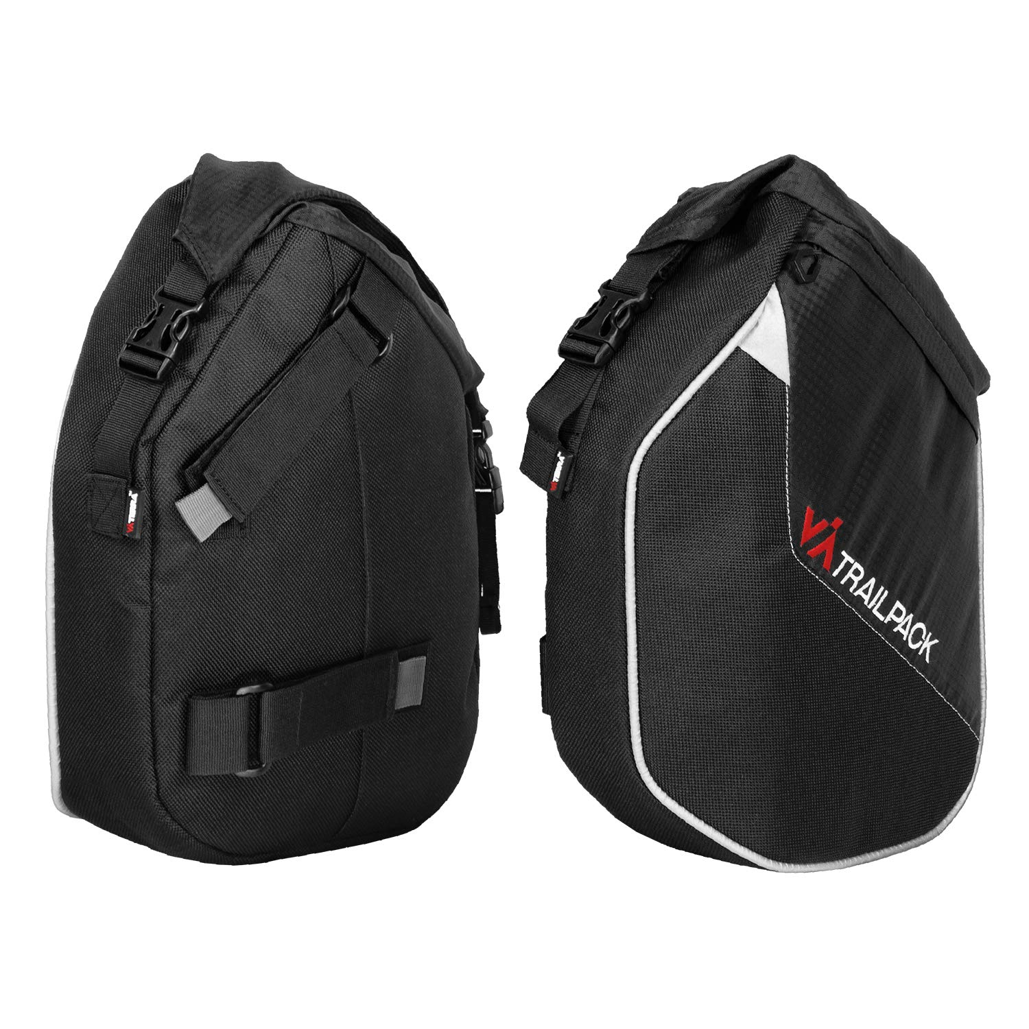 ViaTerra Water Proof Trailpack for Royal Enfield Himalayan (Black)
