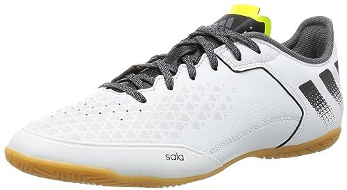 timeless design a180e 4f1ce adidas Ace 16.3 Court, Botas de fútbol para Hombre, (Crystal White Core  Black Solar Yellow), 46 EU  Amazon.es  Zapatos y complementos